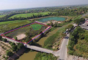 ขายที่ดิน 4 ไร่ 3 งาน ติดแม่น้ำนครนายก ใกล้วัดเลขธรรมกิต ขายยกแปลงพร้อมโอน 3.8 ล้านบาท